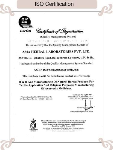 A. M. A. Herbal Laboratories Private Limited - Manufacturer from ...