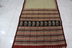 Cotton Bagru Hand Block Printed Sarees