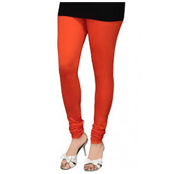 Stretch Orange Leggings