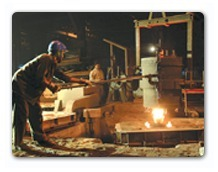 Metal Pouring - Static Castings