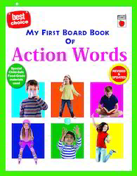 My First Board Book Of Action Words