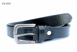 Ladies Black Leather Belts