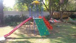 FRP Playground Combination Set Slide