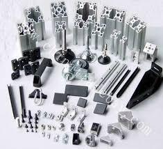 all types of aluminium section