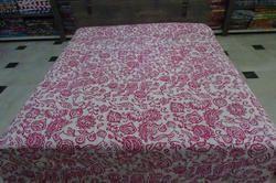 Cotton Kantha Tribal Design Bed Cover