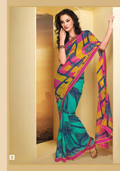 Designer Party Wear Printed Sarees