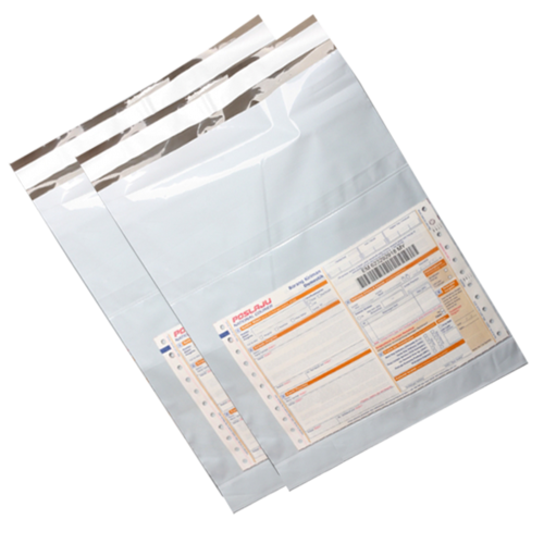 Tamper Proof Courier Bags with POD