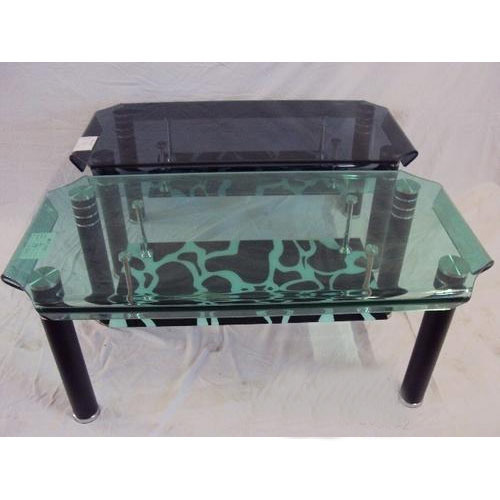 Center Table With Top Glass Imported