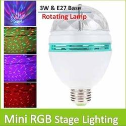 mini crystal ball disco light