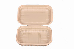 small snack box 450ml clam shell