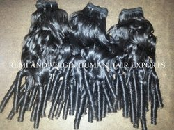 Curly Wavy Human Hair Extension