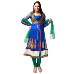 Net & Jacket Anarkali Suits