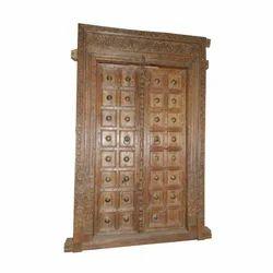 Architectural Vintage Carved Door