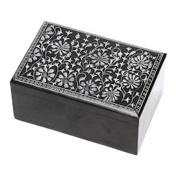 Black Soapstone Boxes