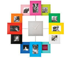 photo wall clock promotional photo clock