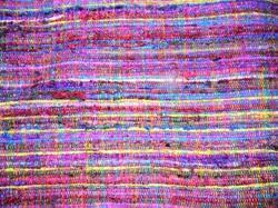Recycled Sari Silk Fabrics for Home Decorations