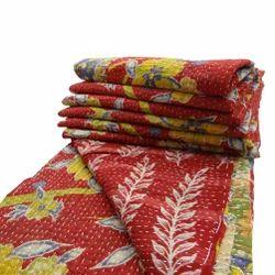 Old Sari Kantha Quilt