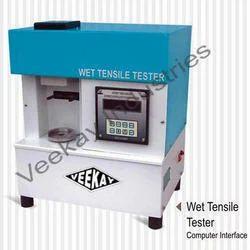 Wet Tensile Tester
