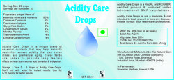 Acidity Care Drops