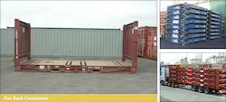 40 Feet Used Flat Rack Shipping Container