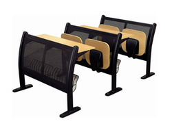 folding school chair desk
