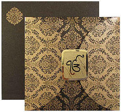 Sikh wedding cards designer wedding card manufacturer from jaipur sikh wedding cards stopboris Gallery