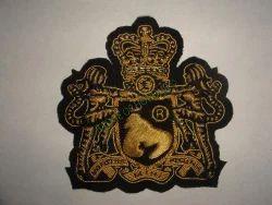 Fashion EMB. Ape. Logo Hand Embroidered Blazer Badge