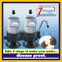 Domestic Water Purifier - 7 Stage Purification Technology