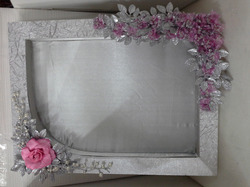 Decorative Saree Packing Tray
