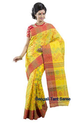 Cotton Dhakai Tant Saree