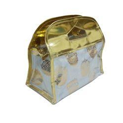 golden vanity bag