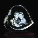 Heart Shaped 3D Crystals
