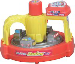 toys spinning racing cars