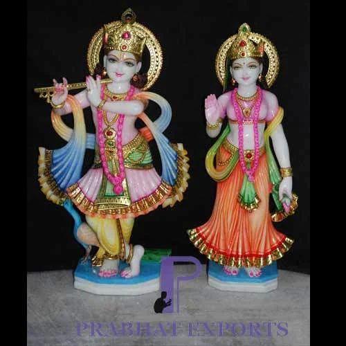 Marble Radha Krishna Statue Manufacturer From Jaipur