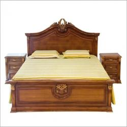 Wooden bed in udaipur rajasthan suppliers dealers retailers of wooden bed - Wood farnichar ...