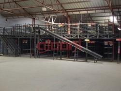 Mezzanine Floor with Slotted Angle