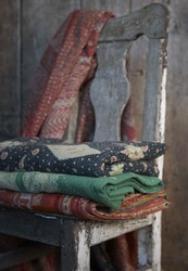 Antique Kantha Quilts