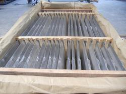 HDPE VCI and Wooden Supports Packing