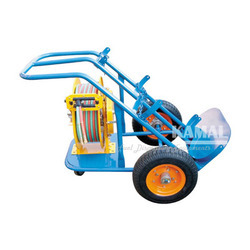 Gas Hose Reel with Trolley