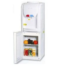 floor standing hot cold water dispenser cooling cabinet