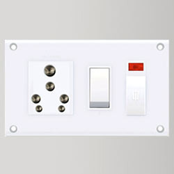 6 & 16 Amp. 5 In One Electrical Switchboards