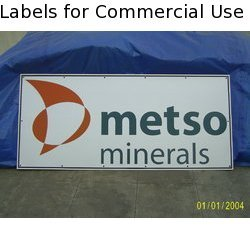 Labels for Commercial Use