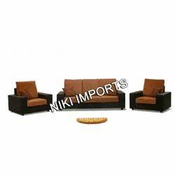 Box Sofa Set - Rexine