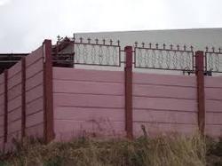 RCC Readymade Concrete Boundary Wall Compound