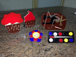 Acrylic Product Badges