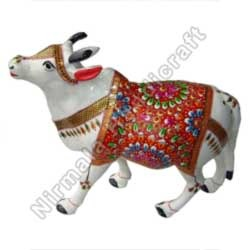 Meena Painting On Cow