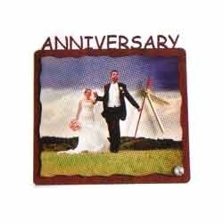 Sublimation Anniversary Table Clocks