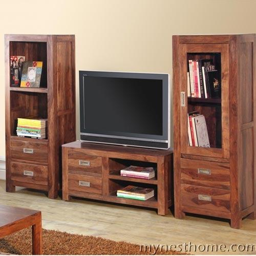 Tv Stands Amp Wall Brackets Solid Wood Tv Stand