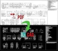 PDF To CAD Conversion Service