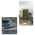 FRP Tanks for Water Treatment Plant
